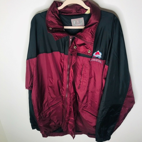 9f99197b2 Colorado Avalanche NHL Hockey Windbreaker Jacket